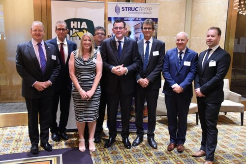Structerre Major Sponsor for HIA Victoria Industry Outlook Breakfast 2015