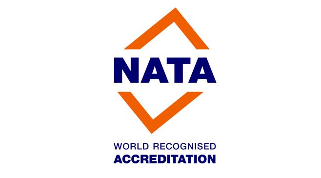 NATA Accreditation Achieved for our Perth Laboratory