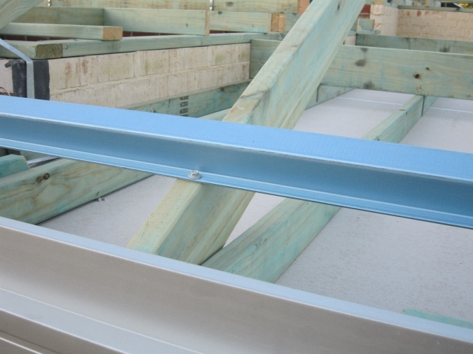 Fixing of Metal Roof Battens in Timber Roof Construction
