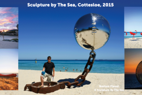 Inventive Engineering For Sculpture By The Sea Artist