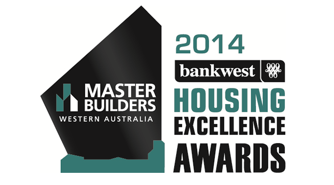 Master Builders Bankwest WA Housing Excellence Awards 2014