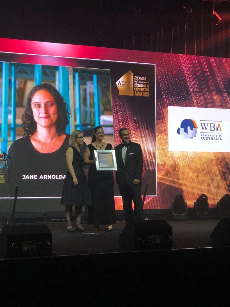 MBA Inauragal Women Building Award